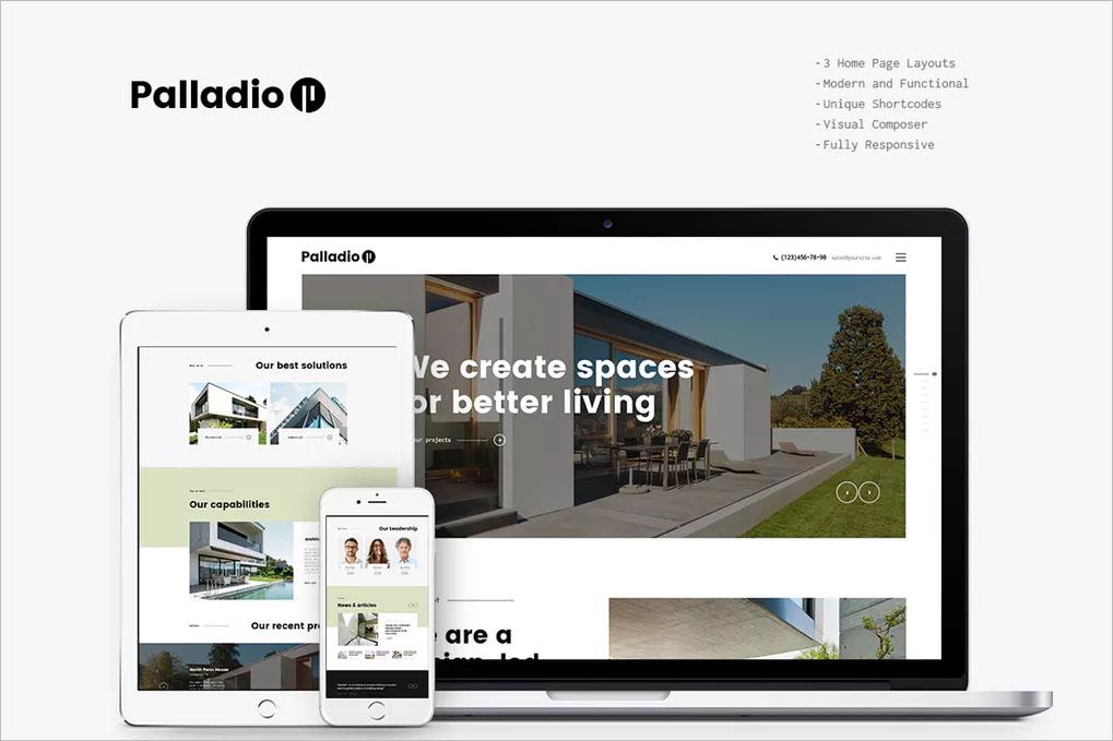 Interior Design & Architecture WP Theme