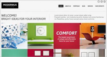 Interior Design Joomla Themes & Templates