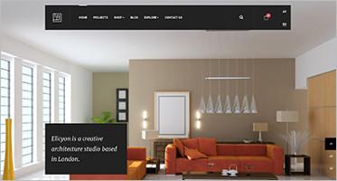 Interior Design Joomla Website Templates