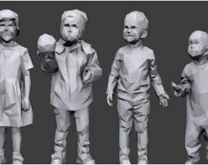 Lowpoly Children Pack