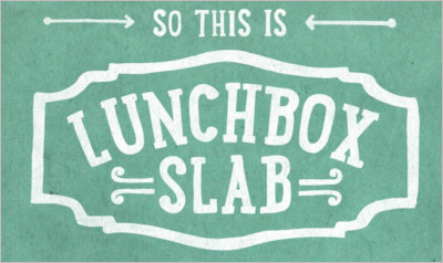 Lunchbox Slab Serif Fonts