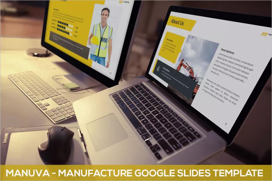 Manufacture Google Slides Template