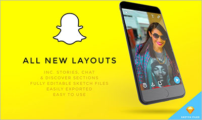 NEW Snapchat UI Kit