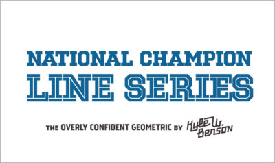 National Champion Line Series - Slab Serif Fonts