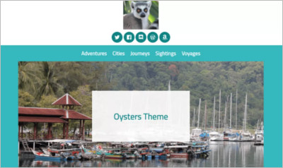Oysters WordPress Theme - Free Download