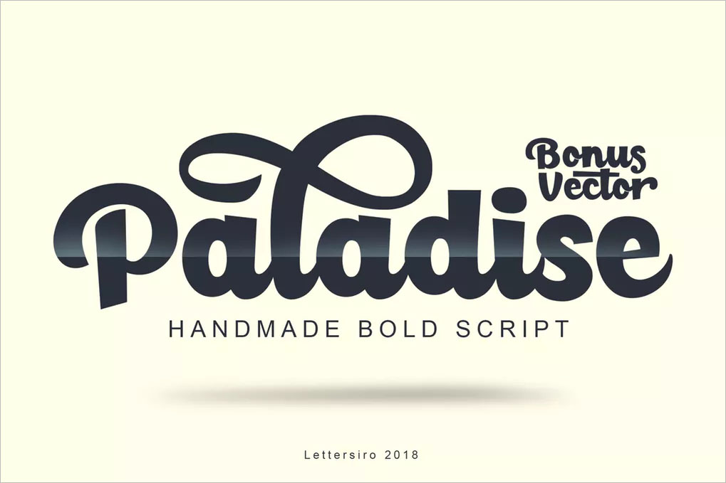 Paladise Font & Extras