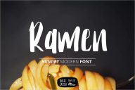 Ramen Modern Font