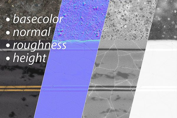 Road texture