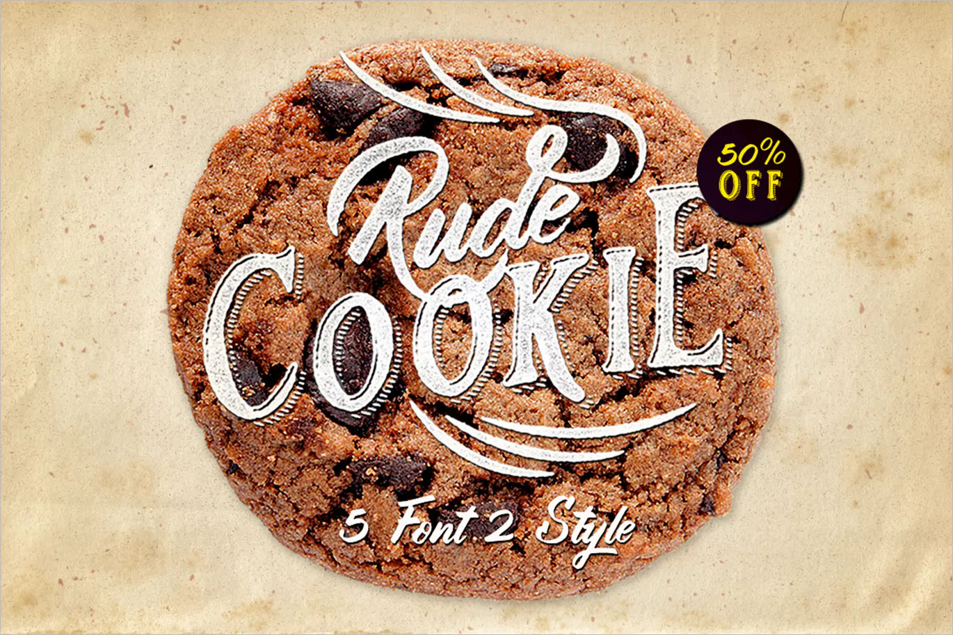 Rude Cookie Font Layer