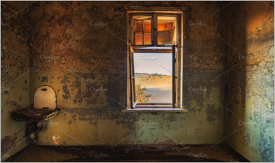 Ruins of the mining town Kolmanskop