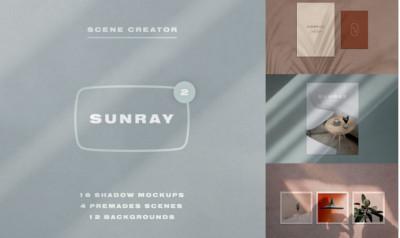 Stationery Shadow Mockups