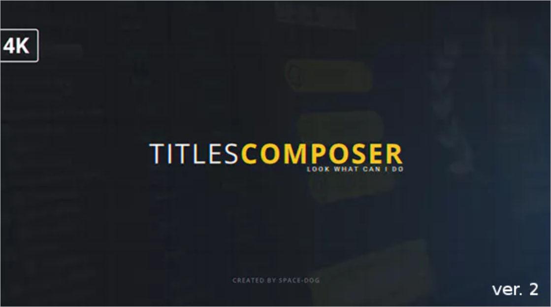 Titles Composer