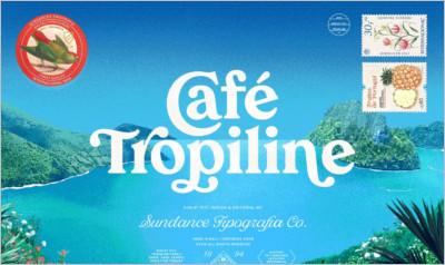 Tropiline Font Family