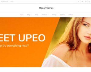 Upeo WordPress Theme