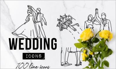 Wedding Icons Set - Expanded