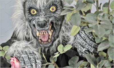 Werewolf and Roses