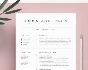 Word Resume Cover Letter