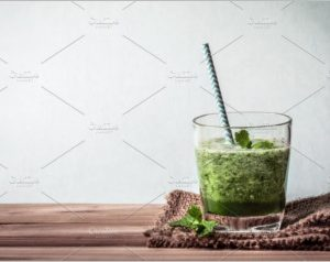 green smoothie juice