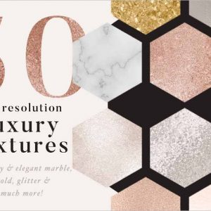 luxury gold & marble textures