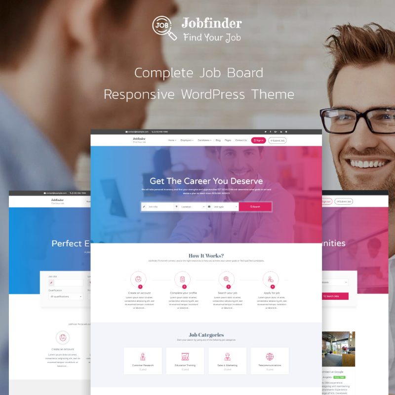 Jobfinder - Job Board WordPress Theme