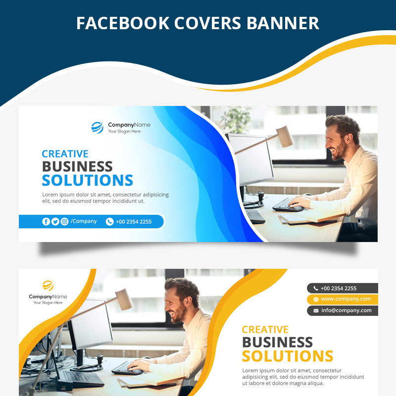 Business Facebook Cover Social Media