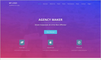 Agency Maker WordPress Theme - Free Download