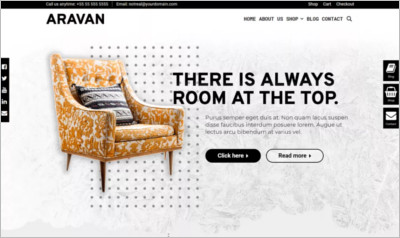 Aravan WordPress Theme
