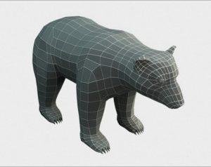 Bear Low Poly