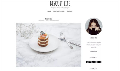 Biscuit Lite WordPress Theme - Free Download