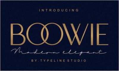 Boowie Modern minimalist elegant