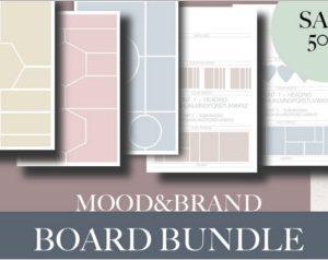 Brand And Mood Board Bundle