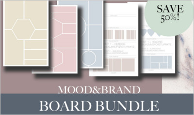 Brand And Mood Board Bundle