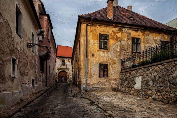 Bratislava Old Town in Slovakia