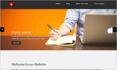 Business Prima WordPress Theme - Free Download