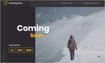 Coming Soon Lite WordPress Theme - Free Download
