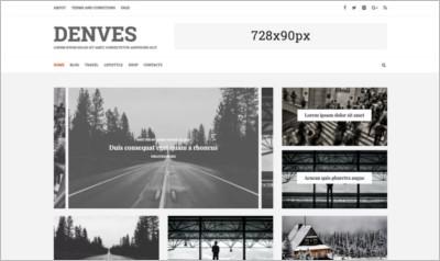 Denves Lite WordPress Theme - Free Download
