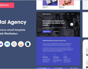 Digital Agency Email Template