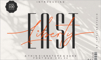 East Liberty Thin Signature & Sans
