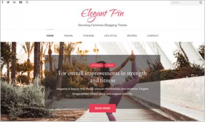Elegant Pin WordPress Theme - Free Download