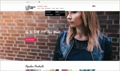 Fancy Lab WordPress Theme - Free Download