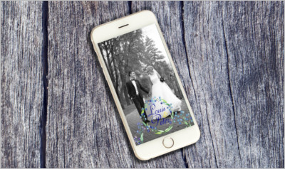 Flower Wedding Snapchat