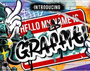 GRAFFITI FAT FONT