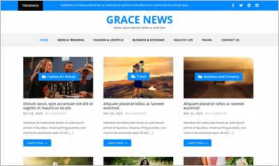 Grace News WordPress Theme – Free Download