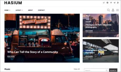 Hasium WordPress Theme - Free Download
