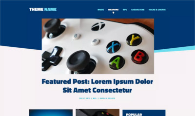 Looper WordPress Blogging Theme