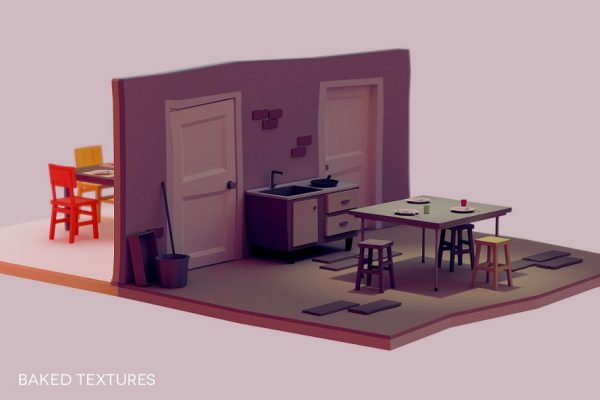 Low Poly Interior