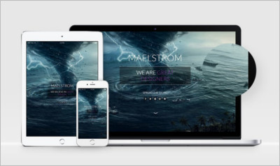 MAELSTROM HTML Template