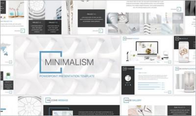 Minimalism - PowerPoint Template