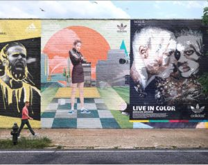Mural Street Mockup