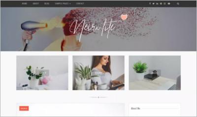 Neira lite WordPress Theme - Free Download